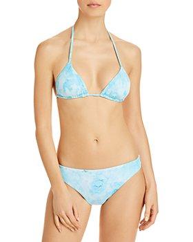 Vitamin A - Gia Tie Dye Triangle Bikini Top & Midori Bottom