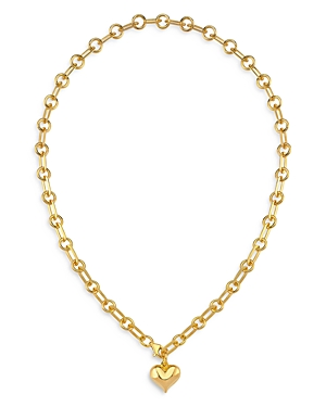 18K Gold-Plated Hanah Heart Pendant Necklace