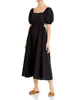 Ava & Esme - Poplin Side Tied Cut-Out Dress (61% off) - Comparable value $128