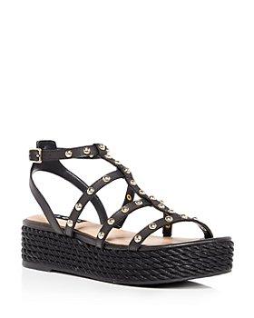AQUA - Women's Kimm Studded Platform Sandals - 100% Exclusive