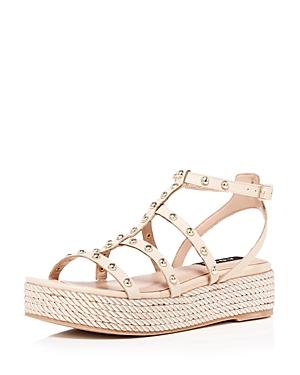 Aqua Women's Kimm Studded Platform Sandals - 100% Exclusive