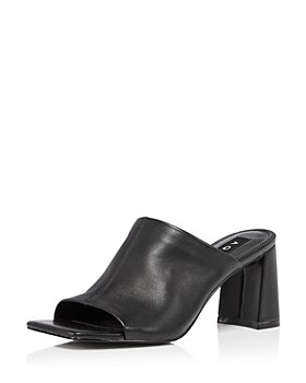 AQUA - Women's Toga High Heel Slide Sandals - 100% Exclusive