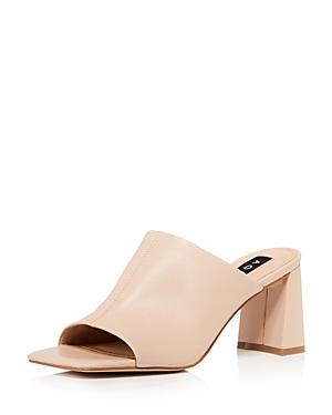 Aqua Women's Toga High Heel Slide Sandals - 100% Exclusive