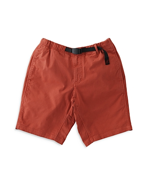 Cotton Stretch Twill Belted Regular Fit Shorts