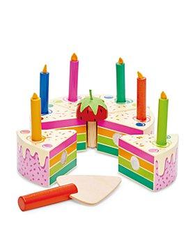 Tender Leaf Toys - Rainbow Birthday Cake - Ages 3+