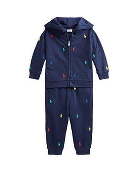 Ralph Lauren - Boys' Embroidered Pony Hoodie & Sweatpants Set - Baby