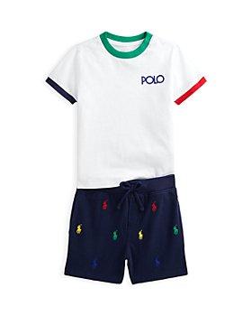 Ralph Lauren - Boys' Tee Shirt & Shorts Set - Baby