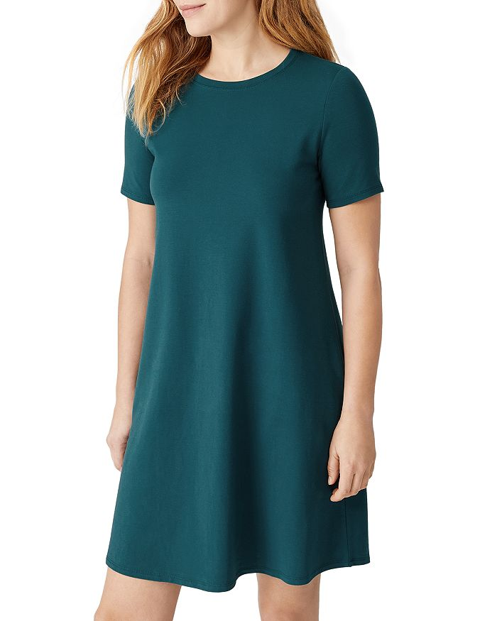 Eileen Fisher - Round Neck Dress