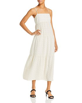 Bardot - Printed Tiered Midi Dress