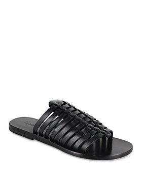 Splendid - Women's Talula Multi Strap Leather Slide Sandals