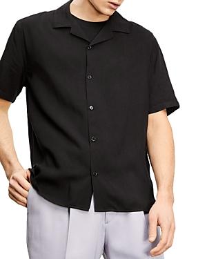 The Kooples Black Camp Shirt