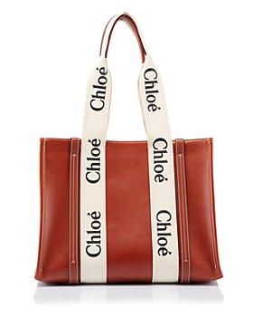 Chloé - Woody Medium Leather Tote