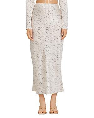 Significant Other Norah Polka Dot Maxi Skirt