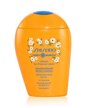 Shiseido - Tory Burch Ultimate Sun Protector Lotion SPF 50+ Sunscreen 5.1 oz.