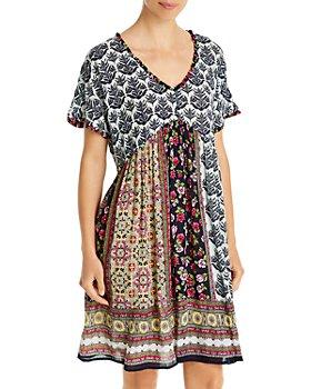Bila - Mixed Print Dress