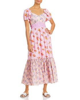 LoveShackFancy - Angie Cotton Printed Midi Dress