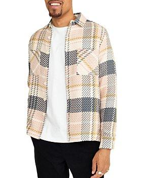 Wax London - Whiting Cotton Plaid Regular Fit Button Down Shirt