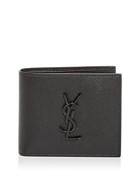 Saint Laurent - Leather Bifold Wallet