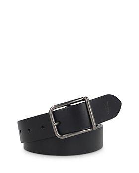ALLSAINTS - Men's Bar Buckle Leather Belt
