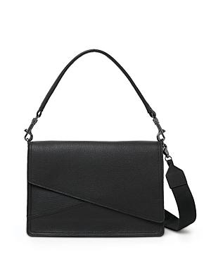 Crosstown Medium Leather Hobo Bag