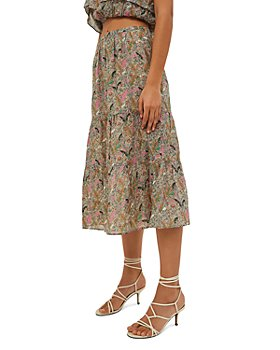 ba&sh - Julia Printed Tiered Skirt