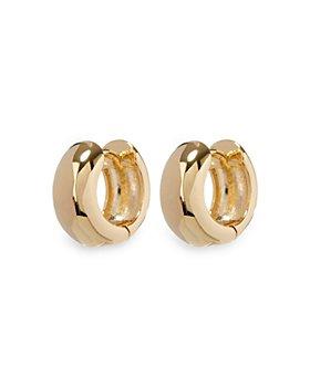 Luv Aj - Mirabella Hinged Huggie Hoop Earrings