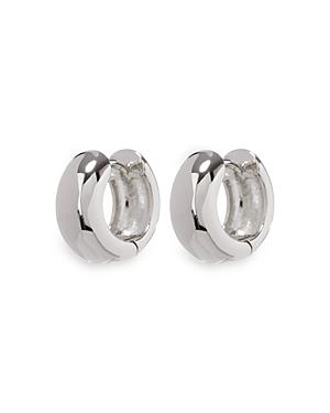Mirabella Hinged Huggie Hoop Earrings