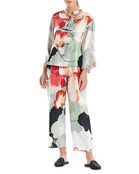 Natori - Satin Mandarin Pajama Set