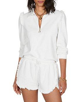 Generation Love - Danielle Polo Sweatshirt & Cici Ruffled Shorts