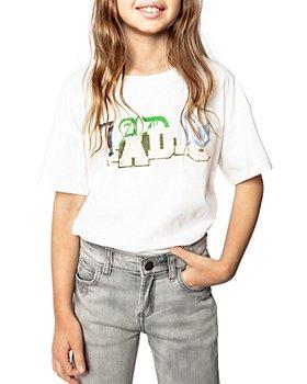 Zadig & Voltaire - Jo Graphic Tee - Little Kid, Big Kid