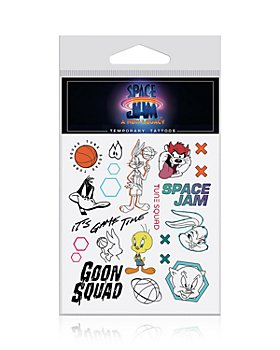 Inked by Dani - Space Jam: A New Legacy Temporary Tattoo Sheet - 100% Exclusive