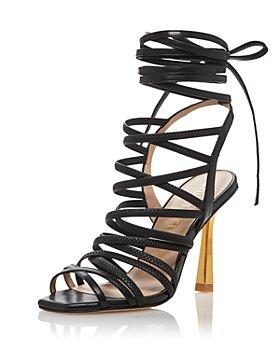 Stuart Weitzman - Women's Jaxie 100 Strappy High Heel Sandals