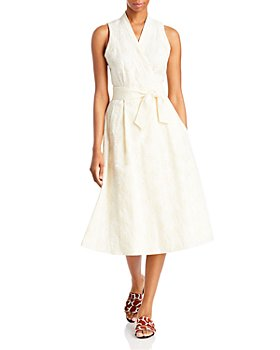 Tory Burch - Logo Lace Wrap Dress