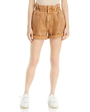 Frame Paperbag Waist Shorts