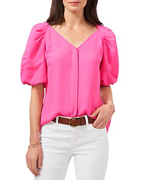 VINCE CAMUTO - Puff Sleeve Blouse