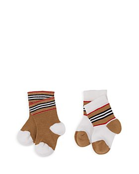 Burberry - Unisex Newborn Icon Socks, 2 pack - Baby