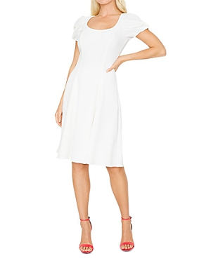 Brent Fit And Flare Mini Dress