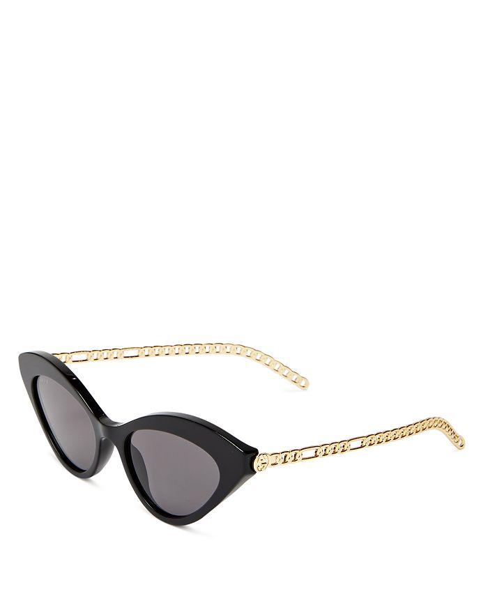 Gucci - Women's Cat Eye Sunglasses, 52mm
