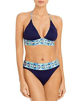 La Blanca - Riviera Reversible Bikini Top & Riviera Reversible Bikini Bottom