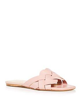 SCHUTZ - Women's Tari Woven Slide Sandals