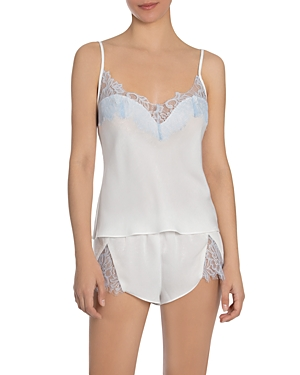 Lace Trim Camisole Shorts Set