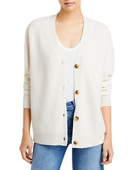 C by Bloomingdale's - Ribbed Oversized Cashmere Cardigan - 100% Exclusive