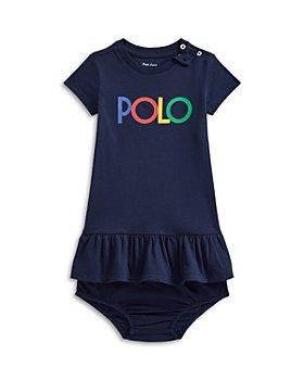 Ralph Lauren - Girls' Cotton Ruffled T-Shirt Dress - Baby