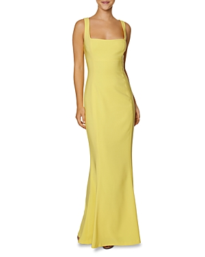 Laundry by Shelli Segal Square Neck Mermaid Gown