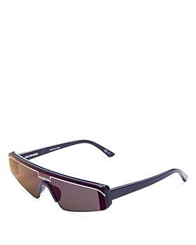 Balenciaga - Unisex Mask Sunglasses, 148mm