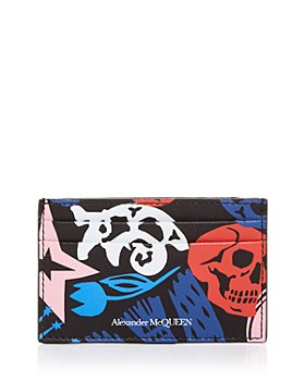 Alexander McQUEEN - Printed Leather Card Case