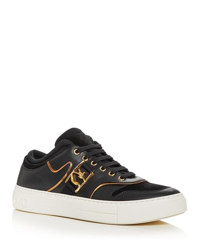 Salvatore Ferragamo - Men's Noris Low Top Sneakers