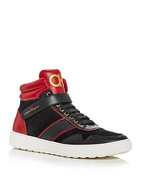 Salvatore Ferragamo - Men's Noe High Top Sneakers