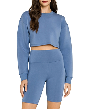 Loungewear Cropped Sweatshirt (42% off) Comparable value $60