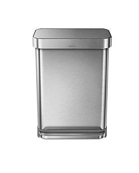 simplehuman - 55 Liter Rectangular Kitchen Step Can